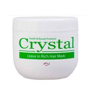 ماسک موی مغذی کریستال بدون آبکشی