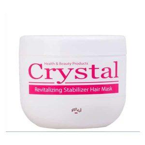 ماسک مو تثبیت کننده رنگ کریستال