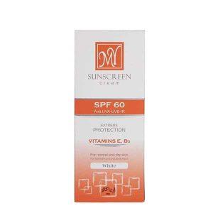 کرم ضد آفتاب SPF60 بیرنگ مای